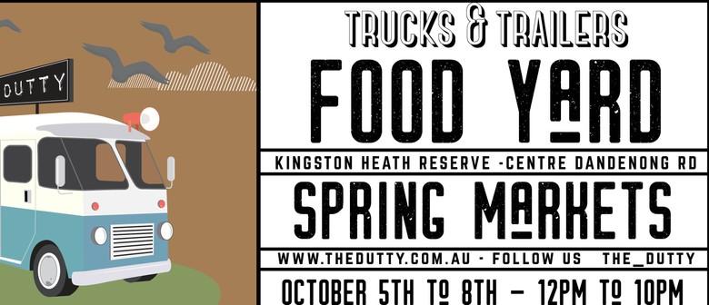The Trucks and Trailers Food Yard
