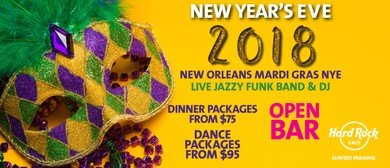 New Orleans Mardi Gras - New Year's Eve