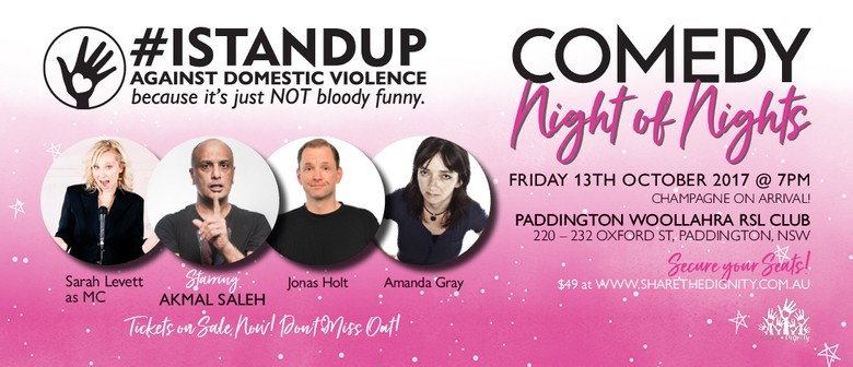 Comedy Night Fundraiser: IStandUp Against Domestic Violence