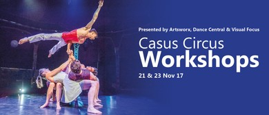 Future Touring Artist Workshop With Casus Circus