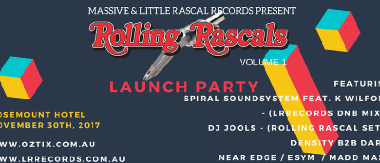 Rolling Rascals Volume 1 Launch Party