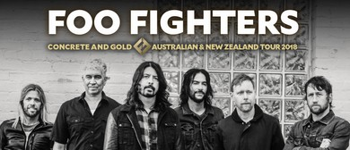 Foo Fighters – Concrete and Gold Australian Tour 2018