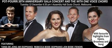 Pot-Pourri 30th Anniversary Gala Concert and WOV Choirs