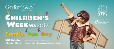 Go for 2 and 5 Children's Week Family Fun Day