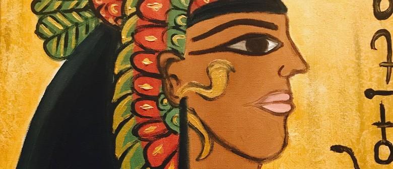 Social Painting Class – Walk Like an Egyptian