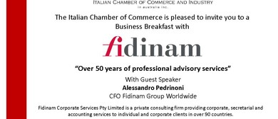 ICCI Business Breakfast With Fidinam