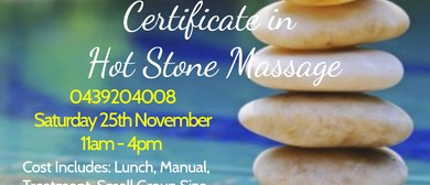 Certificate in Hot Stone Massage