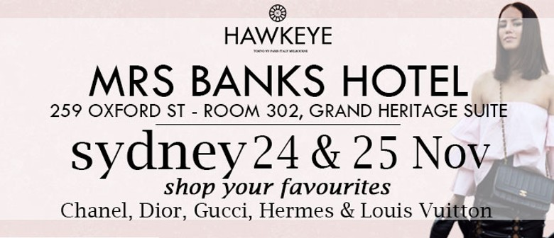 Hawkeye Vintage: Luxe Bag and Accessories Pop-Up