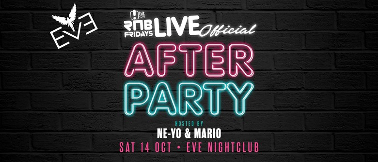 RnB Fridays Live – Official After Party