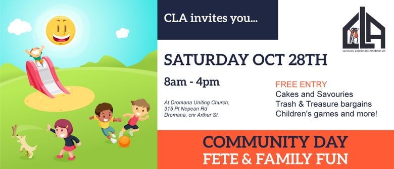 CLA Community Day – Fete and Family Fun