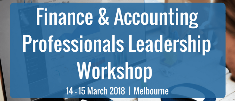 Finance and Accounting Professionals Leadership Workshop