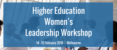 Higher Education Women's Leadership Workshop