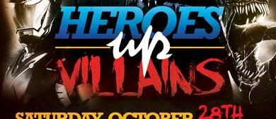 Heros Vs Villians Halloween Party