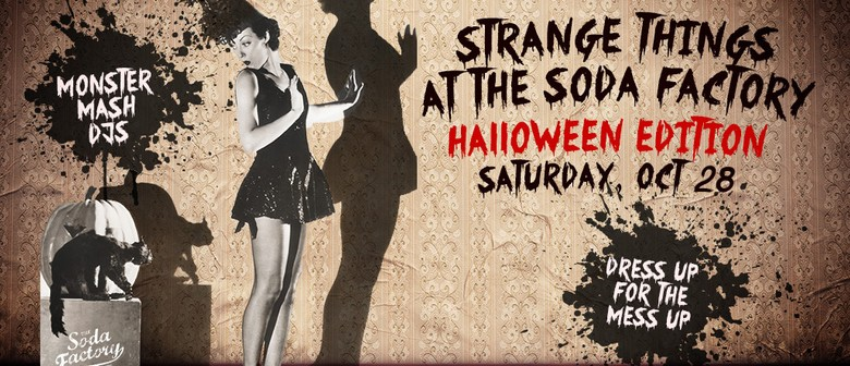 Halloween Party – Where Strange Things Will Happen