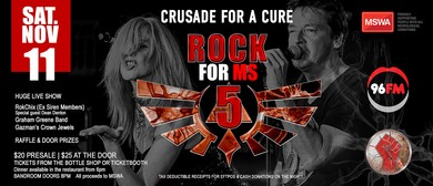 Rock For MS 5 – Crusade For A Cure