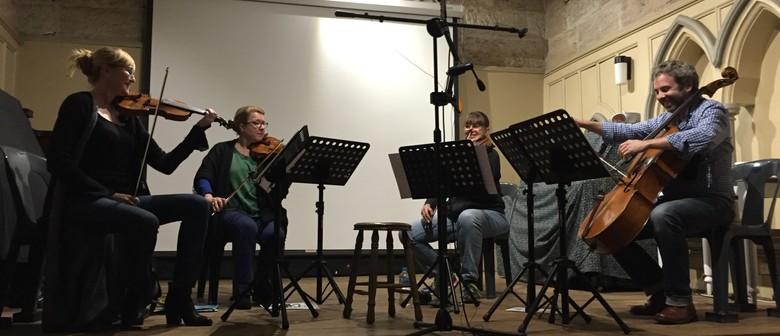 The Chanterelle String Quartet W/ Special Guest Stephen Lalo