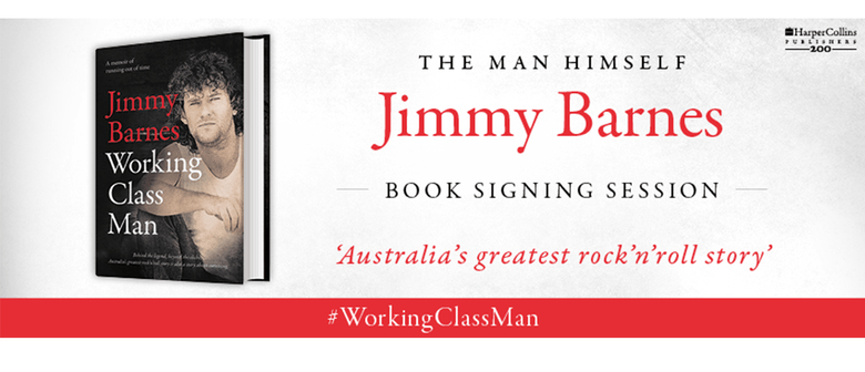 Jimmy Barnes Book Signing Session