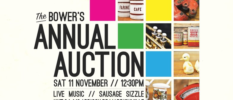 The Bower's Annual Auction