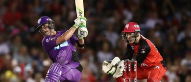 KFC BBL Match 3: Hobart Hurricanes vs Melbourne Renegades