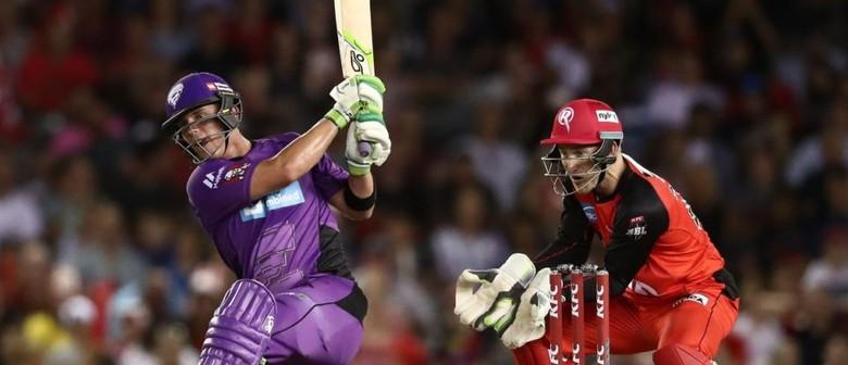 KFC BBL Match 3: Hobart Hurricanes vs Melbourne Renegades