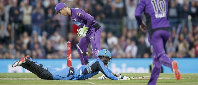 KFC BBL 07 Match 17 – Hobart Hurricanes vs Adelaide Strikers