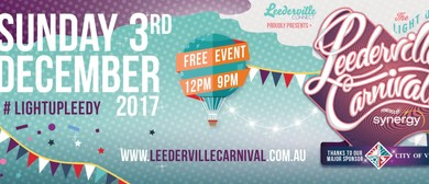 Light Up Leederville Carnival Powered By Synergy