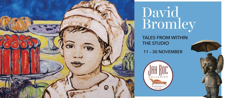 David Bromley Exhibition – Tales From Within the Studio