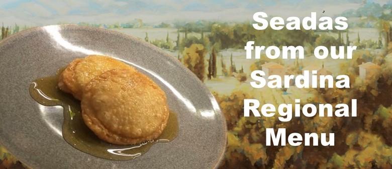 Sardinia Regional Menu