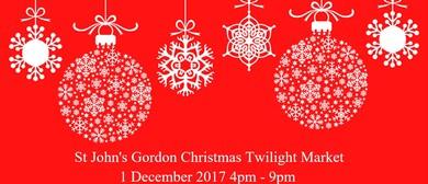St John's Gordon Christmas Twilight Market