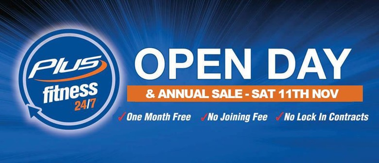 Plus Fitness Artarmon - Open Day & Annual Sale