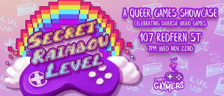Secret Rainbow Level – A Queer Games Showcase
