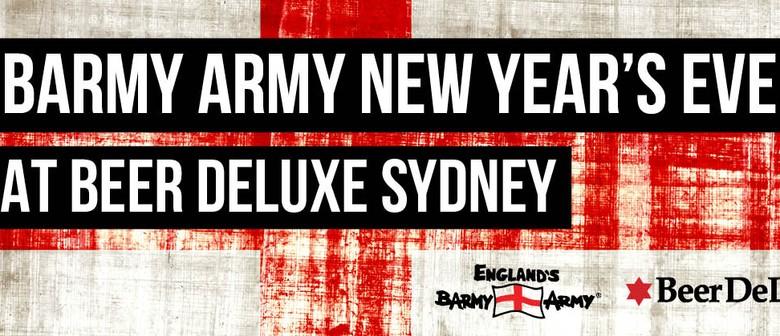 Barmy Army NYE