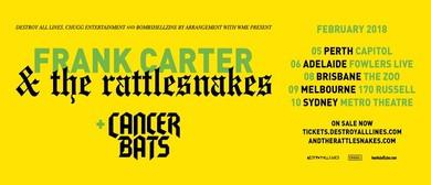 Frank Carter and The Rattlesnakes Australian Tour 2018