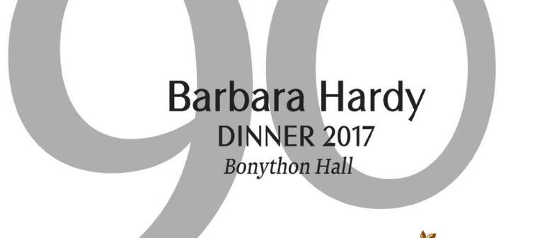 Barbara Hardy Dinner 2017