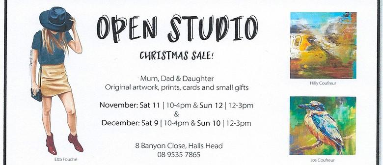 Open Studio – Art Sale