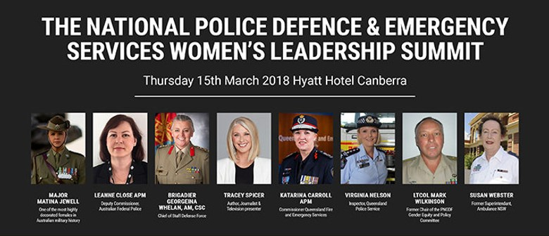 Police, Defence and Emergency Services Women's Summit