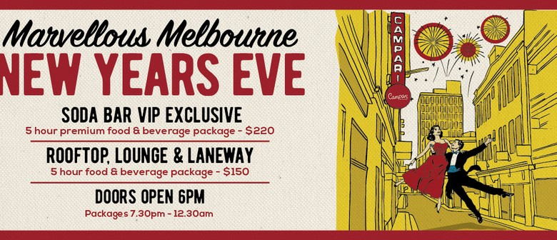 Marvellous Melbourne New Year's Eve