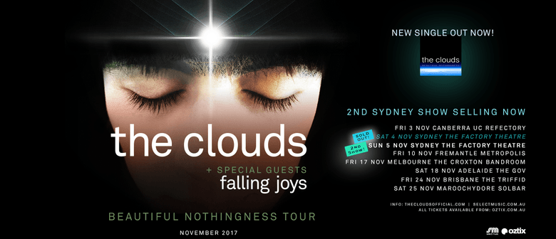 The Clouds Aus Tour with special guests Falling Joys - WA