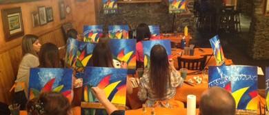 Beginners Painting Class – Street Lights