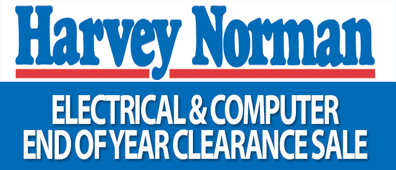 Harvey Norman End of Year Clearance Sale