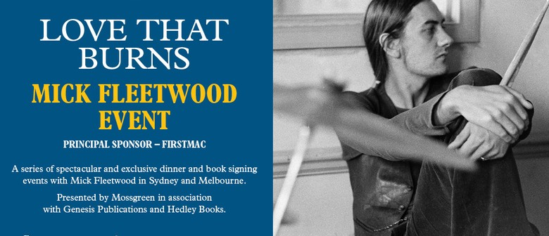Book Signing Event With Mick Fleetwood