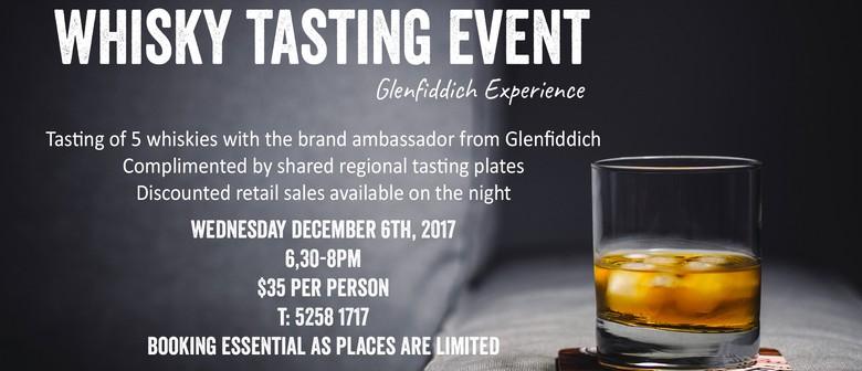Whisky Tasting Event – Glenfiddich Whisky