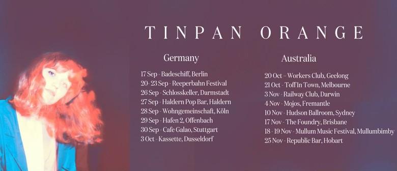 Tinpan Orange Wanderers Single Tour