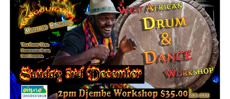 Bangoura Drum and Dance Workshops