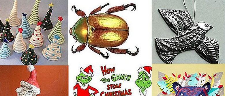 Christmas School Holiday Art Workshops for Kids and Teens