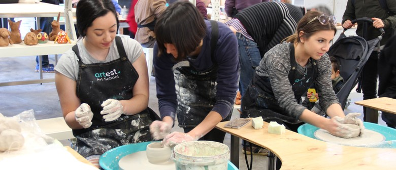 School Holiday Art Classes for Kids and Parents