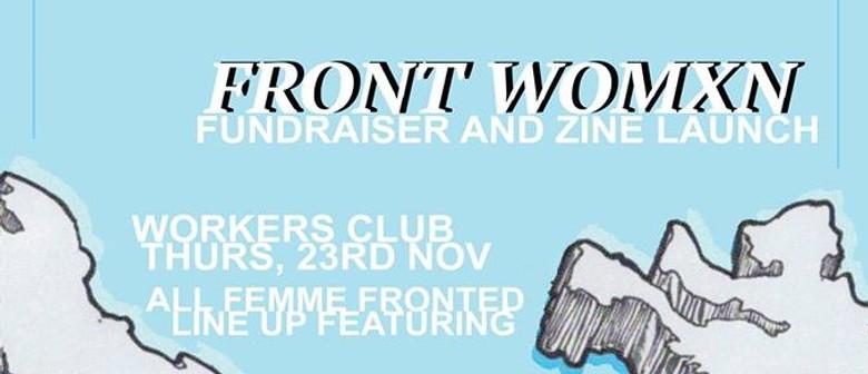Frontwomxn Fundraiser – Zine Launch