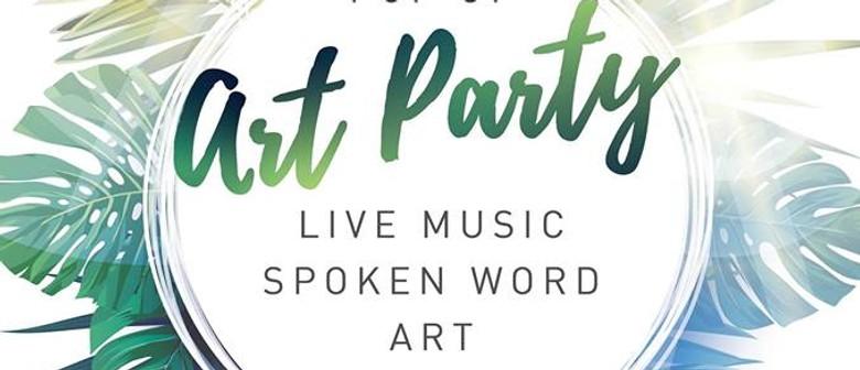 Pop Up Art Party – Long Jetty Street Festival