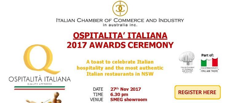 Ospitalita' Italiana Awards Ceremony 2017