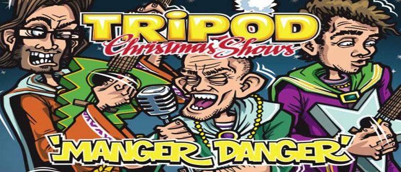 Tripod 'Manger Danger' Christmas Show